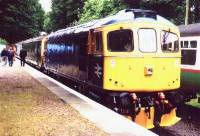 33063 about to depart with 10.00 to Eythorne, 14/7/01. photo D.Robinson
