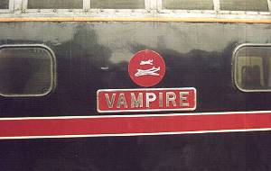 'Vampire' nameplates on 33108 -<br /> May 2002