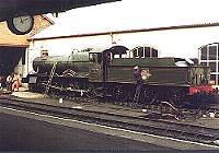7820 Dinmore manor at Minehead shed