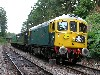 33065 detached from the train in Groombridge loop and draws forward, 8th Aug.