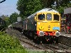 33065 + 73136 wait to depart Tenterden with the 1600 to Bodiam on 18/7